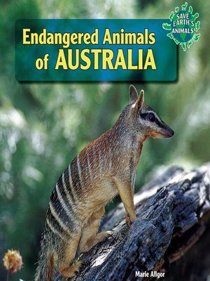 cover image of Endangered Animals of Australia